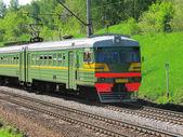 Pociąg elektryczny — Zdjęcie stockowe