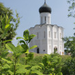 Stock Photo: Church of the Intercession on River Nerl