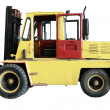 Stock Photo: The image of loader under the white background