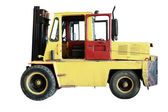 The image of loader under the white background — Stock Photo