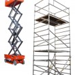 Scaffold and lift — Stock Photo #6604667
