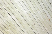 Weathered white wood - diagonal — Stock Photo