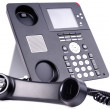 Stock Photo: IP telephone set