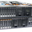 Two rack mount servers — Stock Photo