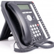 Stock Photo: Office multi-button IP telephone