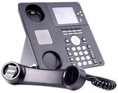 IP telephone set — 图库照片