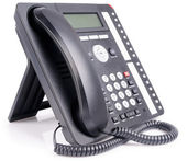 Office multi-button IP telephone — Stock Photo