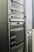 системы хранения и блейд-серверами — Стоковое фото