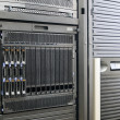 Royalty-Free Stock Photo: Blade servers in rack