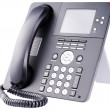 Stockfoto: IP telephone on white