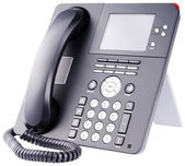 IP telephone on white — Stock Photo