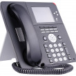 Stock Photo: Office IP telephone on white
