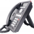 Office IP telephone on white — Foto Stock #5986187
