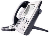 IP telephone isolated on white — Stock Photo
