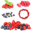 Stock Photo: Different berries