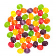 Stock Photo: Multicolored sweet sugary candy