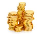 Chocolate money — Stock Photo