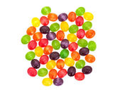 Multicolored sweet sugary candy — Stock Photo