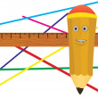 Jolly pencil. — Stock Photo #5693100