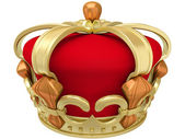 Gold imperial crown — Stock Photo