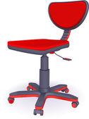 Modern office chair — Stock Vector