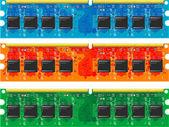 Computer memory — Stock Vector
