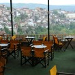 Empty Restaurant in Veliko Tarnovo — Stock Photo