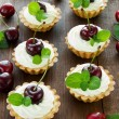 Stock Photo: tartlets