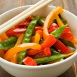 Vegetables stir-fry — Stock Photo