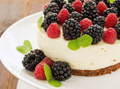 Berry cheesecake — Stock Photo