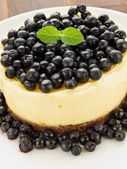 Lemon cheesecake — Stock Photo