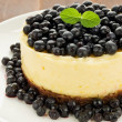 Stock Photo: Lemon cheesecake