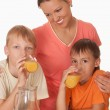Two brothers and mother — Stock Photo #5441326