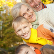 Nice family on the nature — Stock Photo #5441650