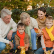 Large family plays — Stock Photo #5441696
