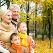 Nice family on the nature — Stock Photo #5441800