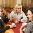 Stock Photo: Three young women