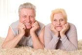 幸せな老夫婦 — ストック写真