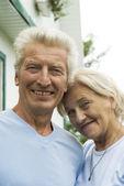 Belo casal velho — Fotografia Stock