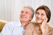 šťastný starší pár — Stock fotografie