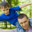 Father with his son i — Stock Photo #5509658