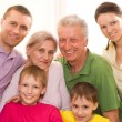 Portrait of a happy family — Stock Photo #5509869