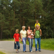 Family on the nature — Stock Photo #5511482
