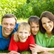 Portrait of a happy family — Stock Photo #5511832