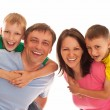 Nice family of four — Stock Photo #5513982