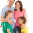 Parents with their two children — Stock Photo #5514035