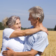 Old smiling couple — Stock Photo #5514442