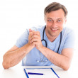 Closeup portrait of a happy  doctor — Stock Photo