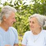 Nice old couple — Stock Photo #5514849