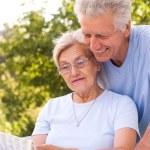 Nice old couple — Stock Photo #5514883